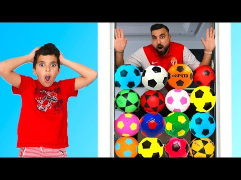 Kids Playing With Soccer Ball ,funny Videos For Kids , Les Boys Tv