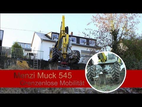 Menzi Muck 545 - Grenzenlose Mobilität