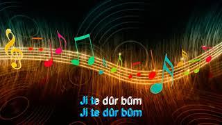 Ji te durbum, Karaoke, Ibrahim Rojhilat - By Mesud Mas