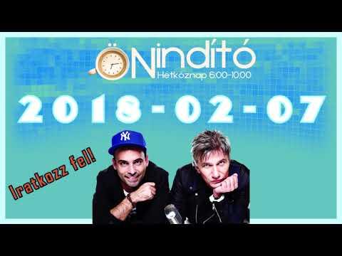 Music FM Önindító 2018 02 07 Szerda