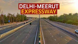 Delhi-Meerut Expressway is India's Widest Expressway