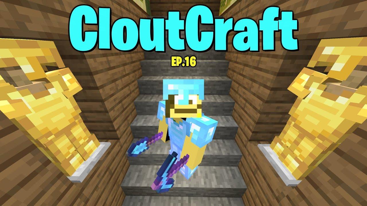 Download Finishing my SECRET Mineshaft... (CloutCraft EP.16)