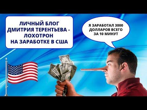 Личный блог Дмитрия Терентьева  - Лохотрон по заработку на льготах США (ИНТЕРНЕТ-ПОМОЙКА #6)