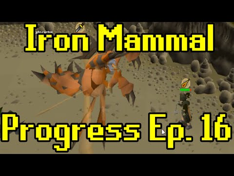 Oldschool Runescape - 2007 Iron Man Progress Ep. 16 | Iron Mammal