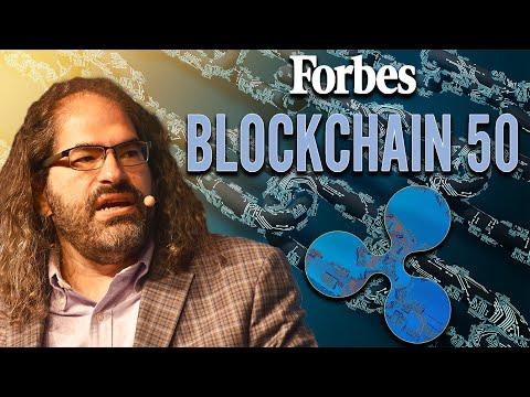 David Schwartz 'Blockchain 50' Forbes #ripple #xrp