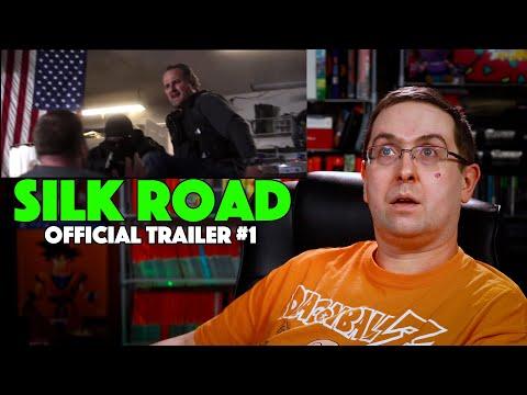REACTION! Silk Road Trailer #1 – Nick Robinson Movie 2021
