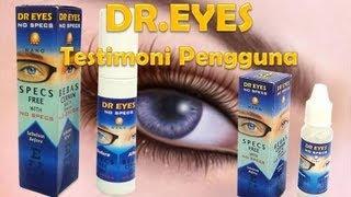 Testimoni Dr  Eyes Selepas Rawatan ...