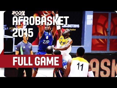 Zimbabwe v Cape Verde - Group D - Full Game - AfroBasket 2015