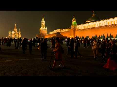 Panasonic LUMIX DMC-FZ1000 Russia Kremlin Red Square Night 4K UHD video