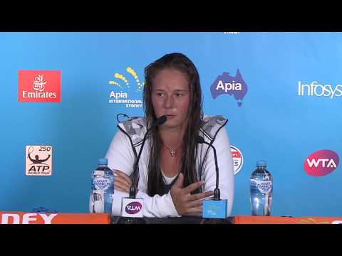 Daria Kasatkina Press Conference (R2) | Apia International Sydney 2017