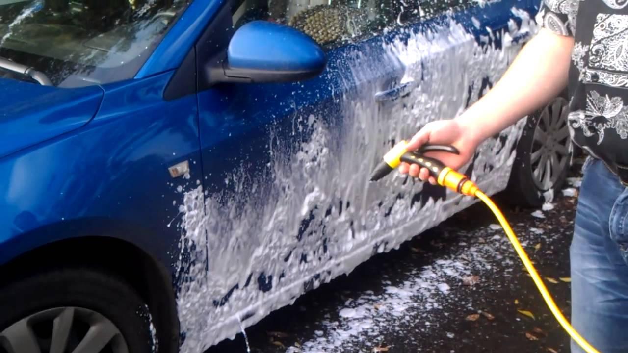 Как сделать мойку для машины своими руками