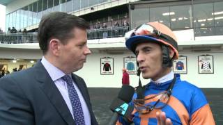 Post Race Interview - Great White Way with John Velazquez