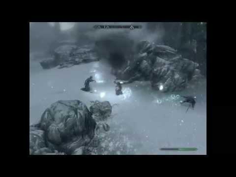 Skyrim Battles - Neloth vs Miraak vs The Caller vs Savos Aren (Free for All)