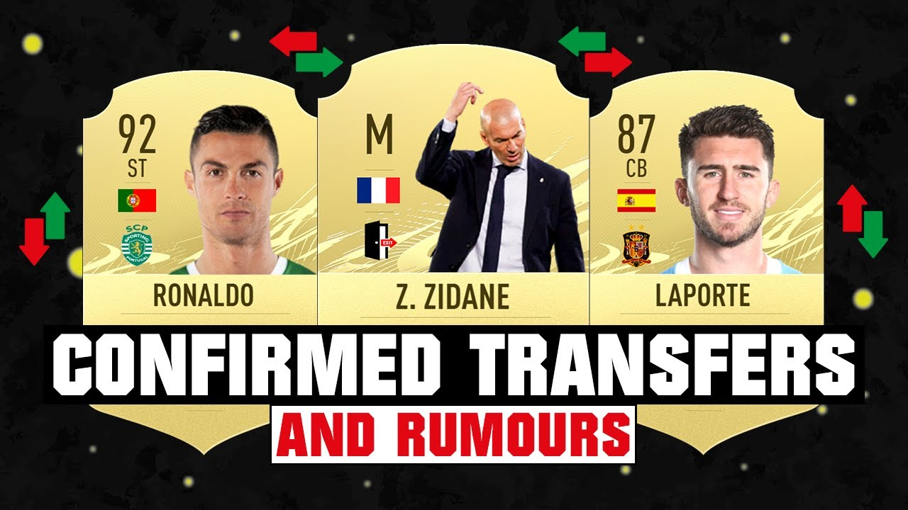 FIFA 22 | NEW CONFIRMED TRANSFERS & RUMOURS! 🤪🔥 ft. Zidane, Ronaldo, Laporte... etc