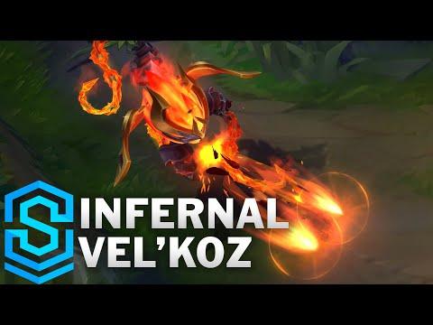 Infernal Vel'Koz Skin Spotlight - League of Legends