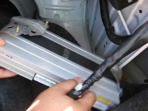 How to Remove Amplifier from 2004 Lexus ES330 for Repair