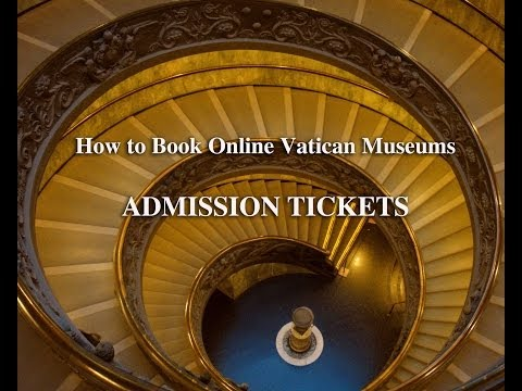 How to Book VATICAN MUSEUMS Admission Tickets online  - by romecabs.com