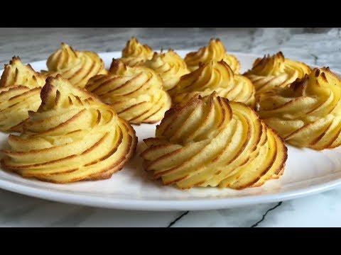 Запеченное Картофельное Пюре(Гарнир)/Праздничный Картофель/Festive Potatoes/Очень Простой Рецепт