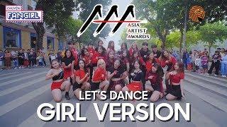 [KPOP IN PUBLIC] LET'S DANCE #1 AAA's Line Up Girl Ver. Dance Cover By CFG  ft BlackChuck Vietnam