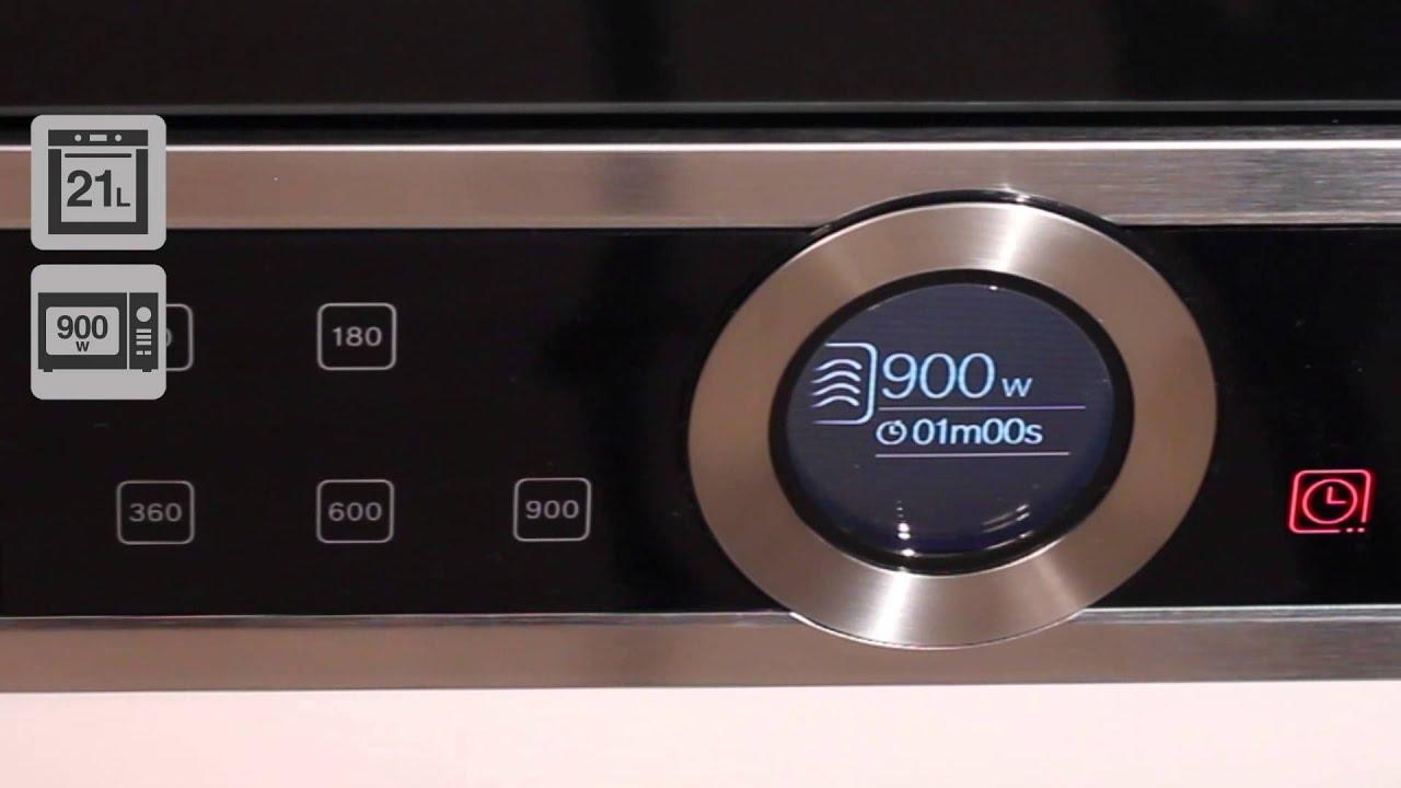 Lò Vi Sóng Bosch BFL634GB1B Tích Hợp 7 Công Thức Nấu Nướng Chuẩn Vị 5 Sao