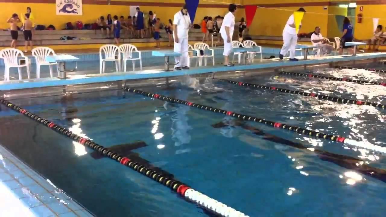 Elena l pez 100 espalda piscina medina del campo for Piscina valladolid
