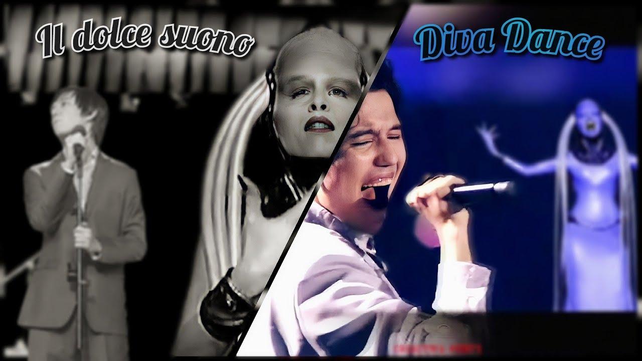 [Rare] Il dolce suono + Diva Dance. Dimash Kudaibergen & Inva Mula. Duet edition. Fifth Element.
