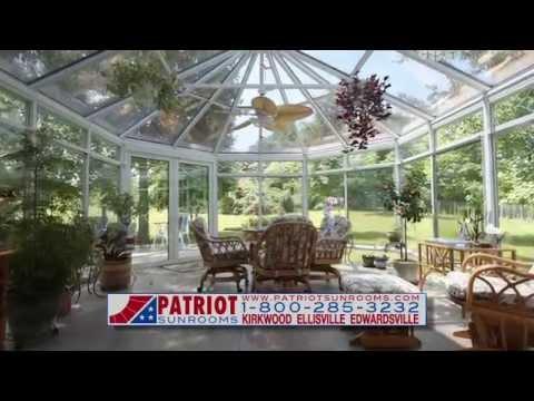 Elegant St. Louis Patriot Sunrooms
