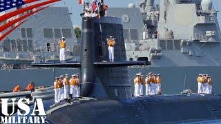 自衛隊の「そうりゅう型」潜水艦がハワイ・真珠湾に寄港 - Japanese Sōryū Class Submarine at Pearl Harbor