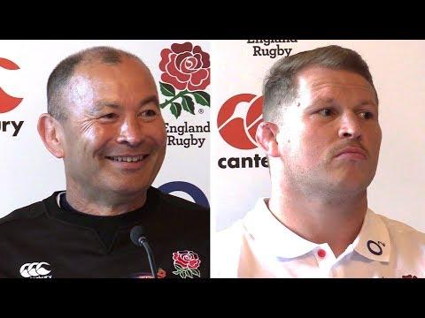 Eddie Jones & Dylan Hartley Full Pre-Match Press Conference - England v Argentina