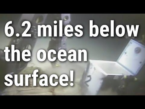 Mariana Trench: HROV Nereus samples the Challenger Deep seafloor.