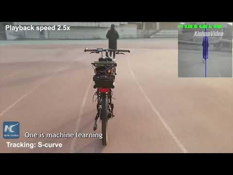 Китайцы изобрели велосипед, который обладает интеллектом и объезжает препятствия
