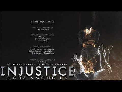 Injustice Gods Among Us End Credits