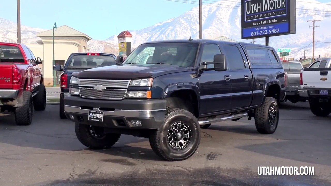 All Chevy chevy 2006 : 2006 Chevrolet Silverado 2500HD LT3 Lifted 6.6L Duramax - Utah ...