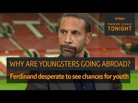 Why are young English players moving abroad for opportunities? | Premier League Tonight discussion
