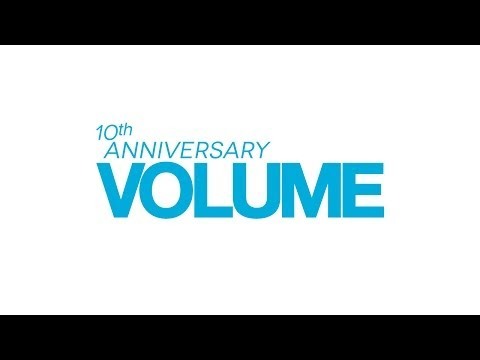 Happy 10th Anniversary Volume Magazine