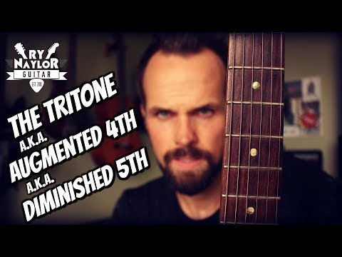 Augmented 4th or Diminished 5th Interval (Tritone) Guitar Interval Lesson