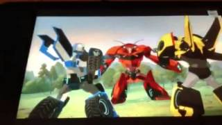 Transformers robots in disquise ( sick of it )