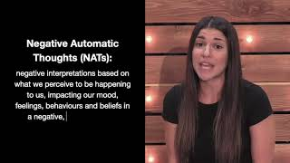Negative Automatic Thoughts (NATs)