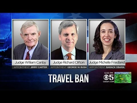 9th Circuit Court Of Appeals Showdown On Trump Travel Ban Set For Tuesday