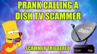 Prank Calling Satellite Scammer [Insane Triggered] thumbnail