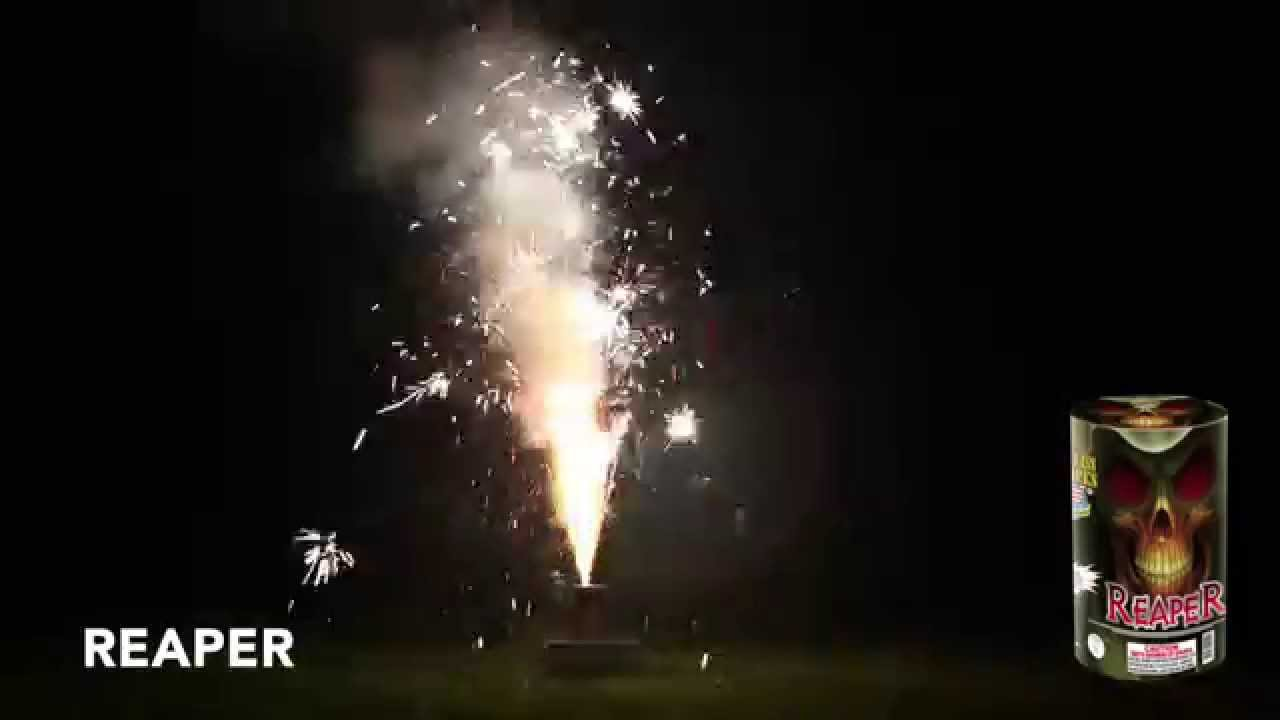 REAPER - Fountain - World Class Fireworks - YouTube