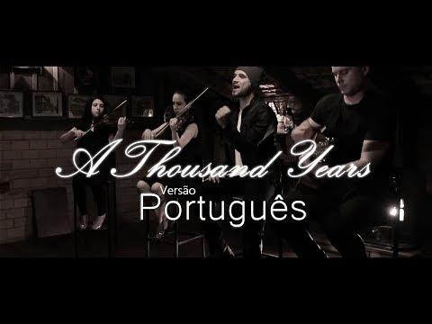 Rodrigo Rossi - Mil Anos (Clipe Official) - A Thousand Years - Versão Português (Filme Crepúsculo)
