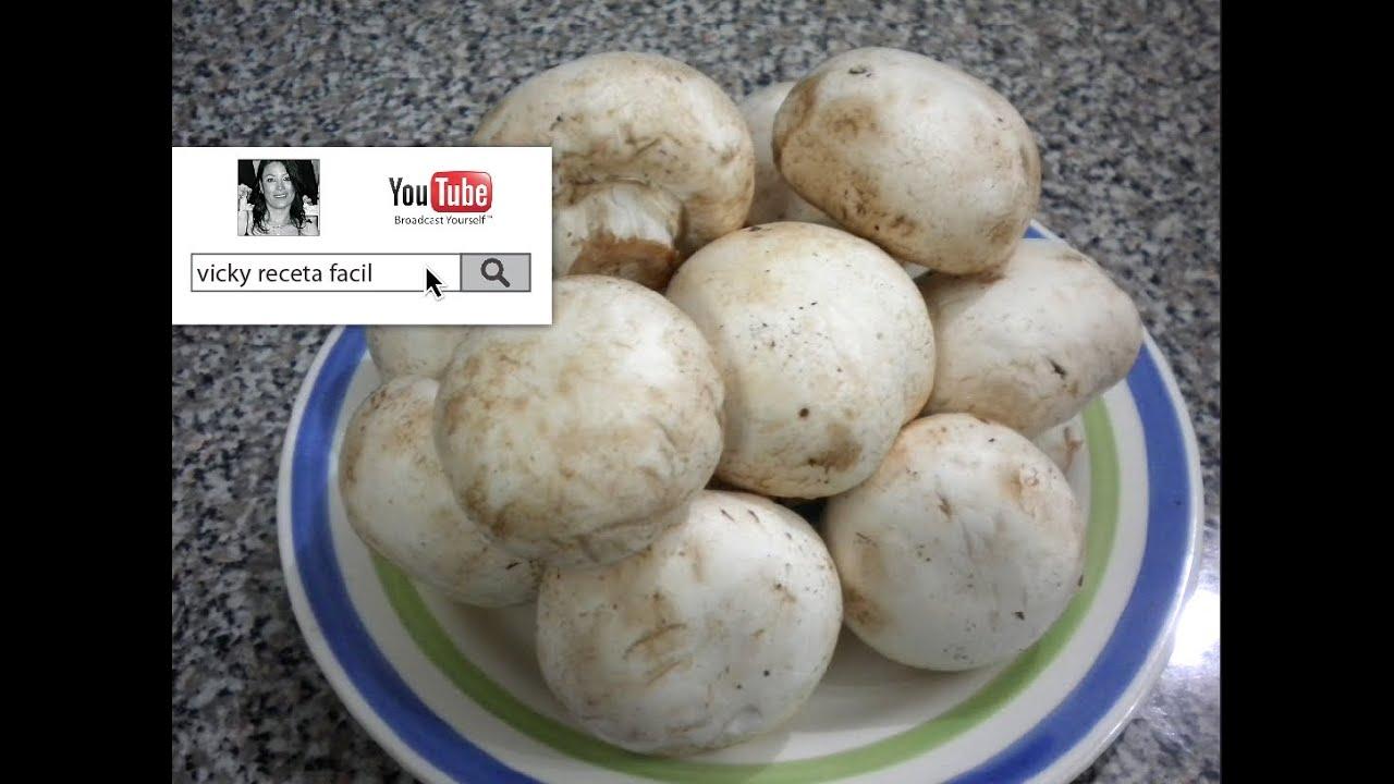 que se puede cocinar con champiñones frescos