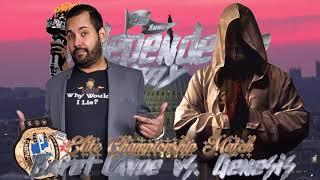 Elite Championship Match: Baret Lavoe (c) vs. Genesis (Independence Day)