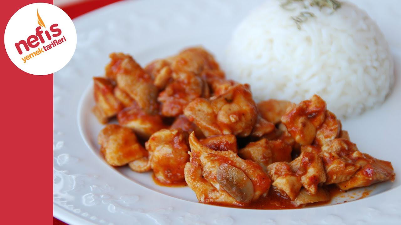 Mantarlı Tavuk Sote Tarifi | Nefis Yemek Tarifleri