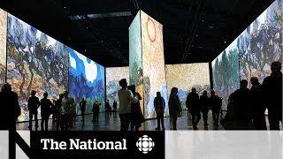 Immersive Van Gogh show opens in Montreal