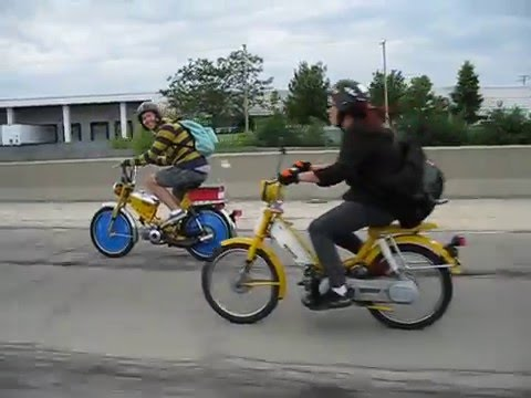 Peddy Cash Moped Rally 2009 - YouTube