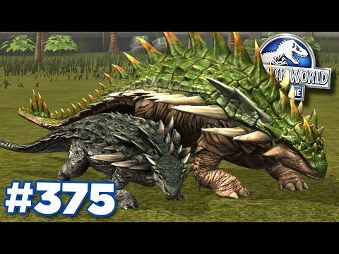 New Nodosaurus MAXED!!! | Jurassic World - The Game - Ep375 HD