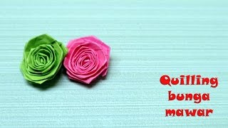 Download Video Cara membuat paper quilling bunga mawar mudah MP3 3GP MP4
