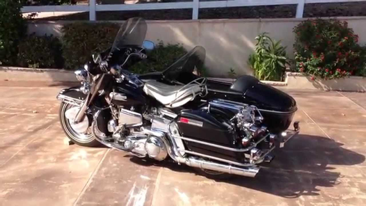 1975 Harley Davidson FLH Sidecar